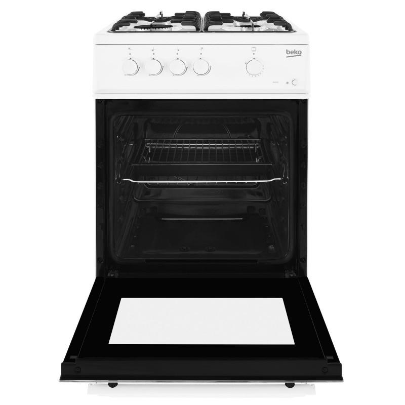 Buy Beko Esg50w 50cm Single Oven Gas Cooker