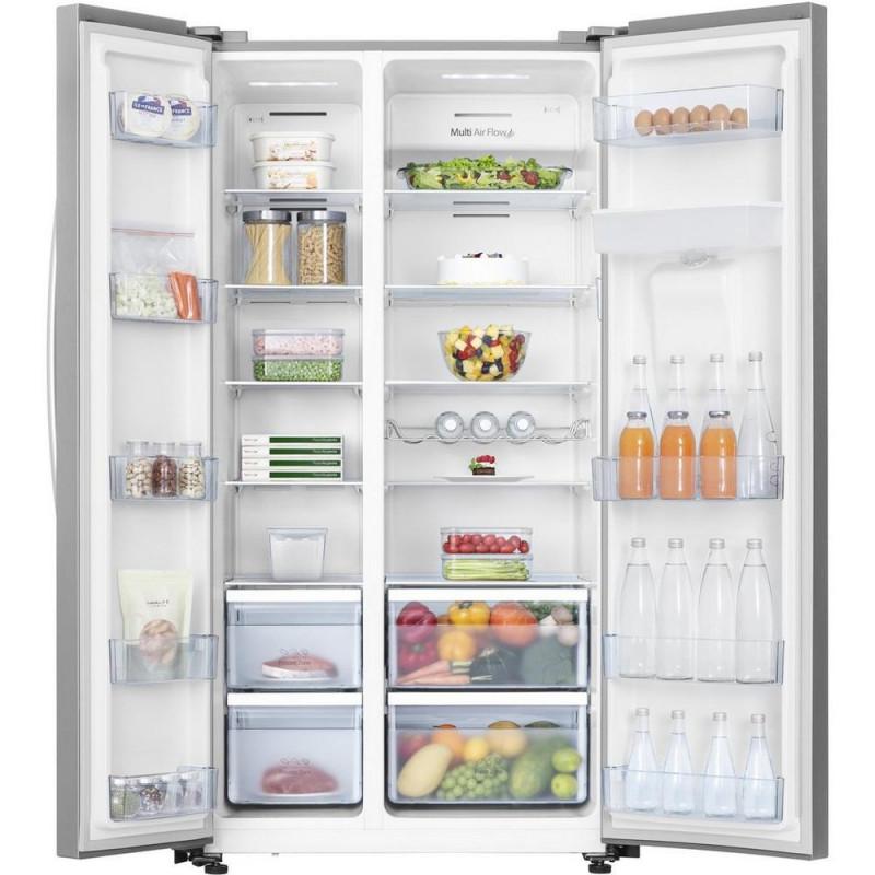 Buy Hisense RS741N4WC11 Side by Side American Fridge Freezer