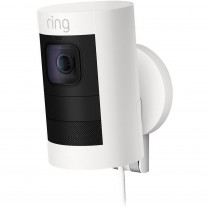 Ring Mains Stick Up Camera - White