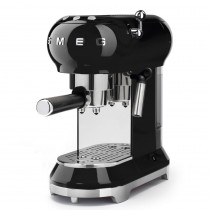 Smeg ECF01BLUK Espressco Coffee Machine - Black