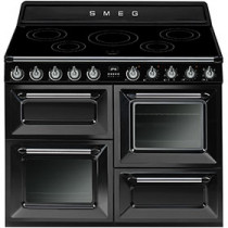Smeg Victoria TR4110IBL 110cm Induction Range Cooker - Black