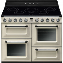 Smeg Victoria TR4110IP 110cm Induction Range Cooker - Cream