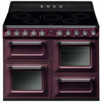 Smeg Victoria TR4110IRW 110cm Induction Range Cooker - Red Wine