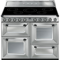 Smeg Victoria TR4110IX 110cm Induction Range Cooker - Stainless Steel