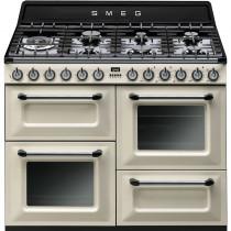 Smeg Victoria TR4110P1 110cm Dual Fuel Range Cooker - Cream