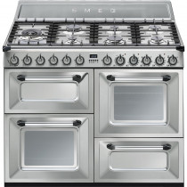 Smeg Victoria TR4110X 110cm Dual Fuel Range Cooker - Stainless Steel