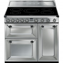 Smeg Victoria TR93IX 90cm Induction Range Cooker - Stainless Steel