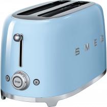 Smeg TSF02PBUK Retro 4 Slice Toaster - Pastel Blue