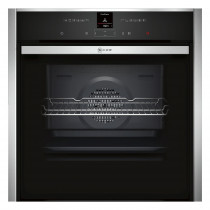 Neff B57CR23N0B Built In Slide & Hide Single Oven