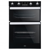 Belling BI902FPBLK Built In Double Oven