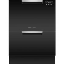 Fisher & Paykel DD60DCHB9 Double DishDrawer™ Dishwasher, 12 Place Settings, Sanitise
