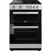 Belling FSE608DSIL 60cm Double Oven Electric Cooker