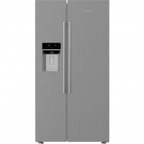 Blomberg KWD253PX Side by Side American Fridge Freezer