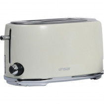 Linsar KY832CREAM 4 Slice Toaster - Cream