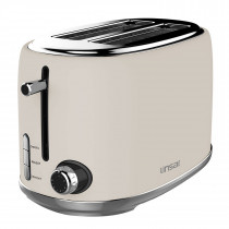 Linsar KY865CREAM 2 Slice Toaster in Cream