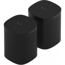 Sonos One SL Bundle (x2) - Black