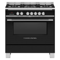 Fisher & Paykel OR90SCG4B1 90cm Dual Fuel Range Cooker