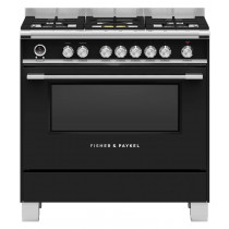 Fisher & Paykel OR90SCG6B1 90cm Dual Fuel Range Cooker