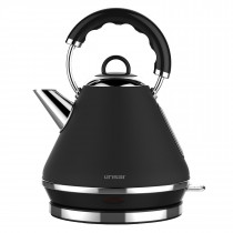 Linsar PK117BLACK Pyramid Kettle in Black