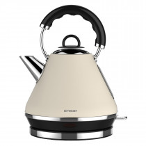 Linsar PK117CREAM Pyramid Kettle in Cream