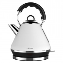 Linsar PK117WHITE Pyramid Kettle in White