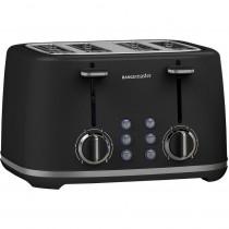 Rangemaster RMKT4S101BK 4 Slice Toaster - Black