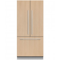 Fisher & Paykel RS80A1 Built In 80cm Frost Free French Door Fridge Freezer