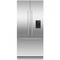 Fisher & Paykel RS80AU1 Built In 80cm Frost Free French Door Fridge Freezer