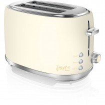 Swan ST20010HON by Fearne 2 Slice Toaster in Pale Honey