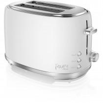 Swan ST20010TEN by Fearne 2 Slice Toaster in Truffle