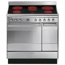Smeg SUK92CMX9 90cm Electric Ceramic Range Cooker - Stainless Stee
