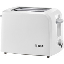 Bosch TAT3A011GB 2 Slice Toaster - White