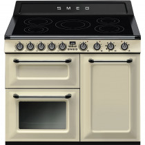 Smeg Victoria TR103IP 100cm Induction Range Cooker - Cream