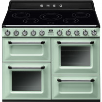 Smeg Victoria TR4110IPG 110cm Induction Range Cooker - Pastel Green