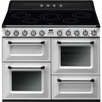 Smeg Victoria TR4110IWH 110cm Induction Range Cooker - White