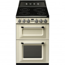 Smeg Victoria TR62IP 60cm Electric Induction Range Cooker - Cream