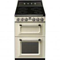 Smeg Victoria TR62IP 60cm Electric Induction Range Cooker - Cream