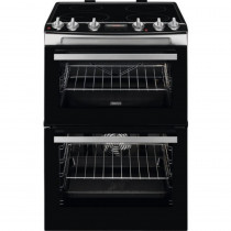 Zanussi ZCI66278XA 60cm Double Oven Electric Induction Cooker