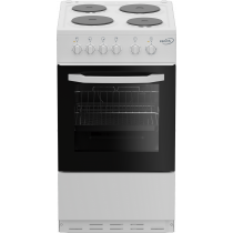 Zenith ZE503W 50cm Single Oven Electric Cooker