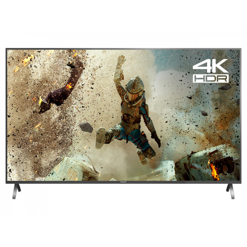 "Panasonic TX-55FX700B 55"" 4K LED TV Front Wide Feet"