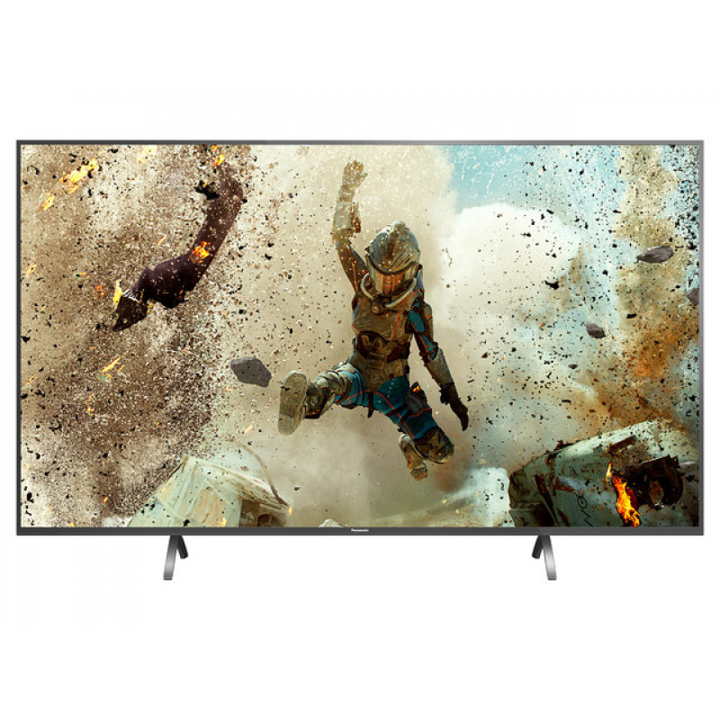"Panasonic TX-55FX700B 55"" 4K LED TV Front Narrow Feet"