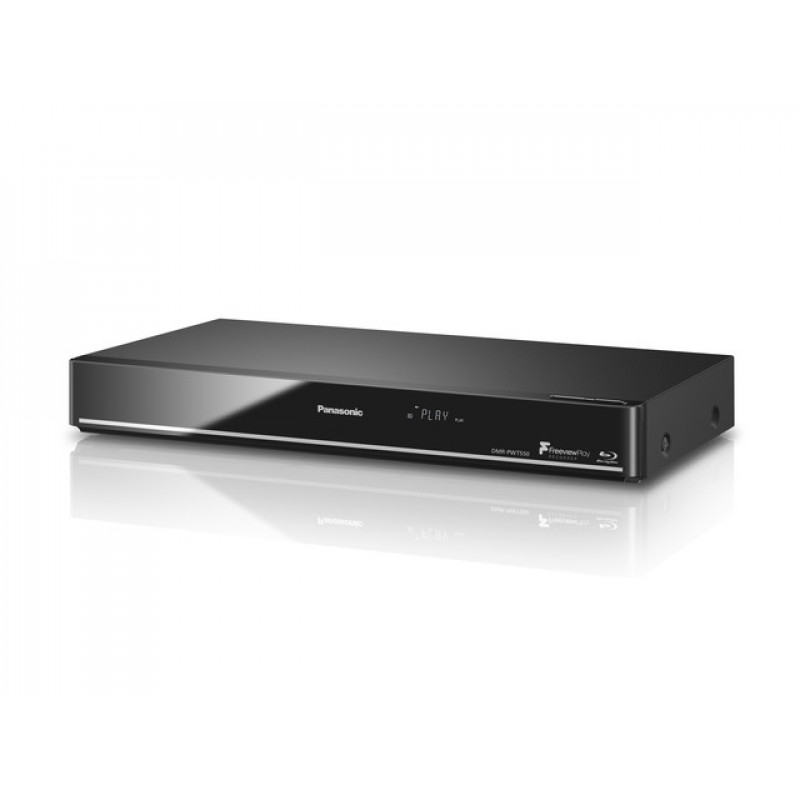 Panasonic DMRPWT550EB Blu-ray Player and HDD Recorder & Player