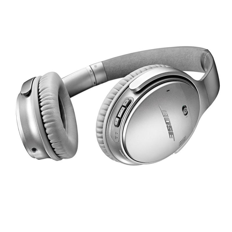 Bose QuietComfort 35 wireless headphones II - Silver