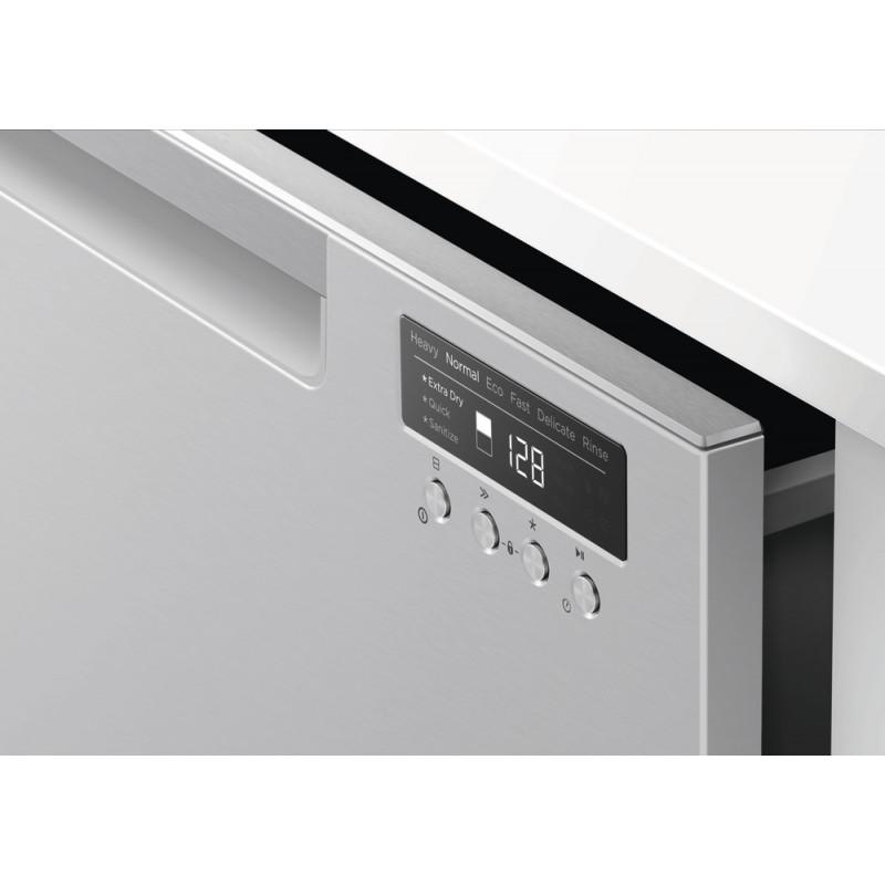 Fisher & Paykel DD60DCHX9 Double DishDrawer™ Dishwasher, 12 Place Settings, Sanitise