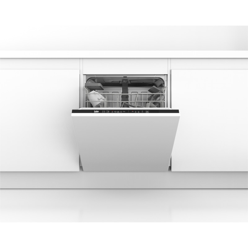 Beko DIN15C10 Built In 14 Place Settings Dishwasher