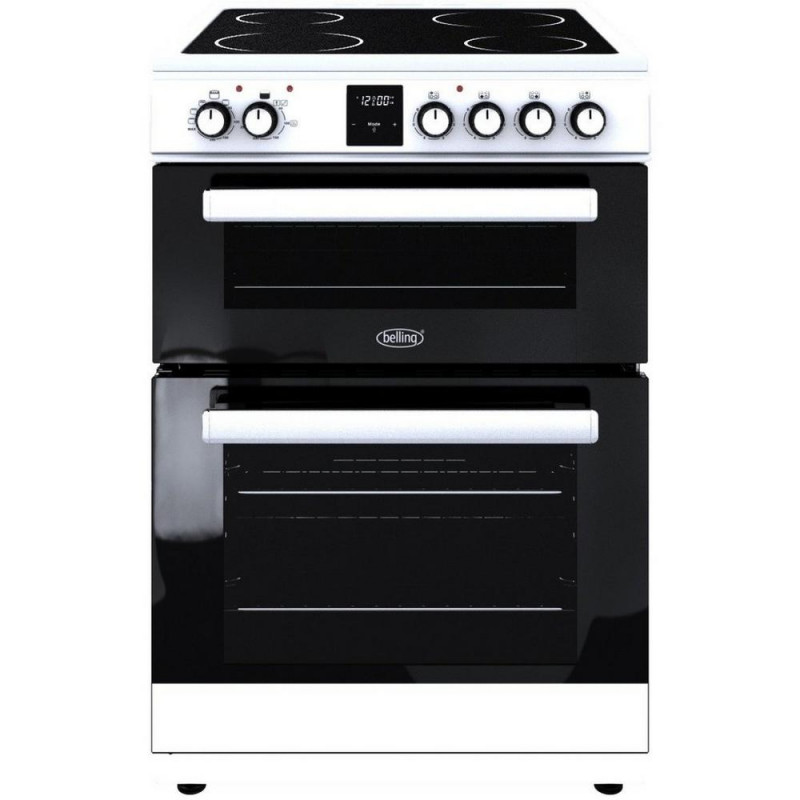 Belling 444444801 FSE608DPC 60cm Double Oven Electric Cooker