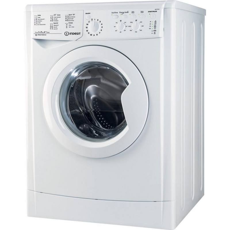 Indesit IWC 71252 ECO 1200 Spin 7kg Washing Machine