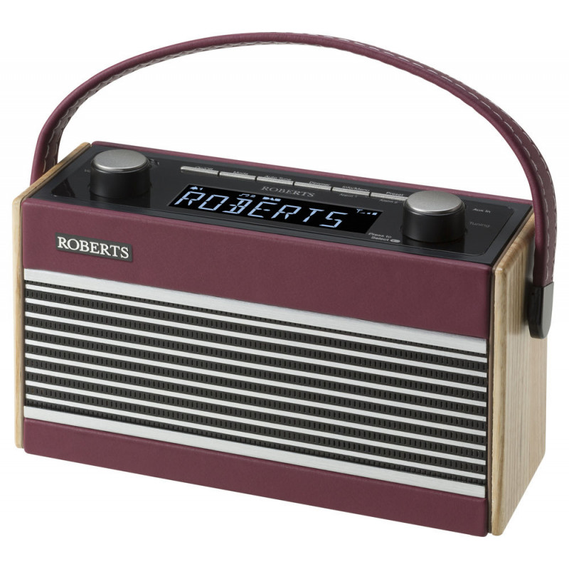 Buy Roberts Rambler Dab Fm Retro Radio