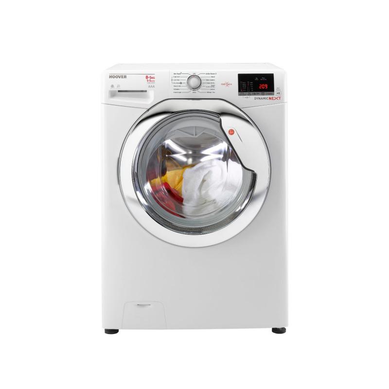 Hoover WDXOC585C 1500 Spin 8kg Wash, 5kg Dry Washer Dryer