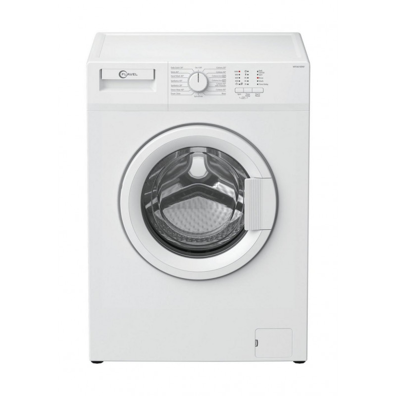 Flavel WFA6100W 1000 Spin 6kg Washing Machine